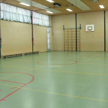 Nieuwe vloer gymzaal Verlengde Lodewijkstraat