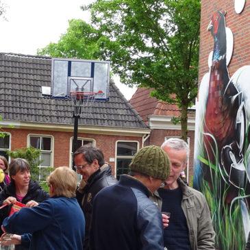 Nieuwe muurschildering Polderstraat