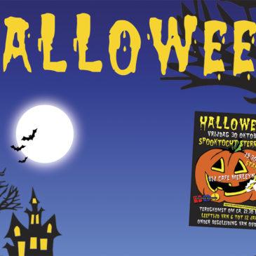 Halloween spooktocht herleeft