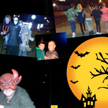 Halloween spooktocht in het Sterrebos succesvol