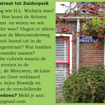 Van Albertstraat tot Zuiderpark