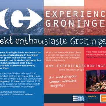 Erasmus Student Network op zoek naar Groningse families