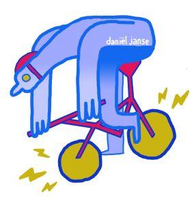 bij 3po electric bycicle rider Daniel Janse
