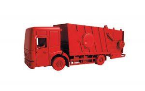 afvalwagen