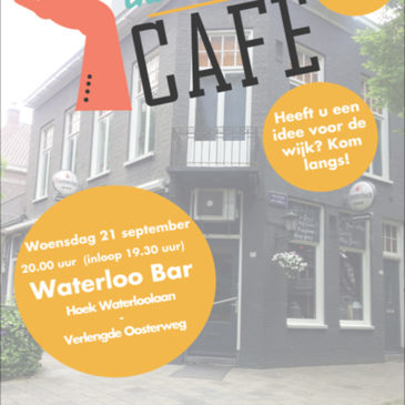 Initiatievencafé in Waterloobar