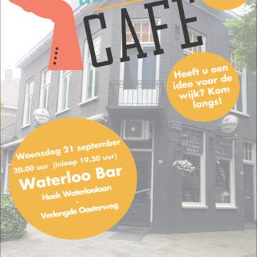 Initiatievencafé in Waterloobar