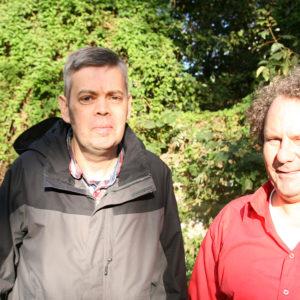 Chris van Boetzelaar met Gert-Jan Huiskes