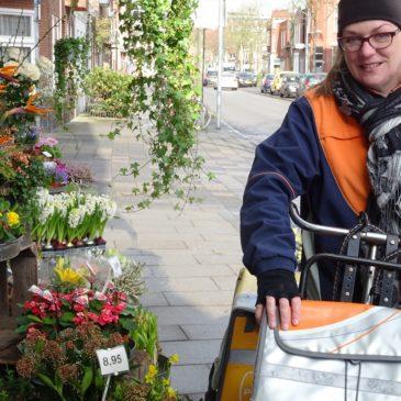Jittie Wildeman, postbezorger in de Oosterpoort en kunstenaar