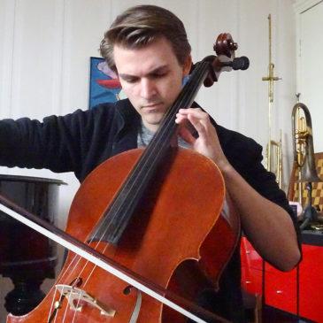 Cellist Theodoor Heyning is een zondagskind