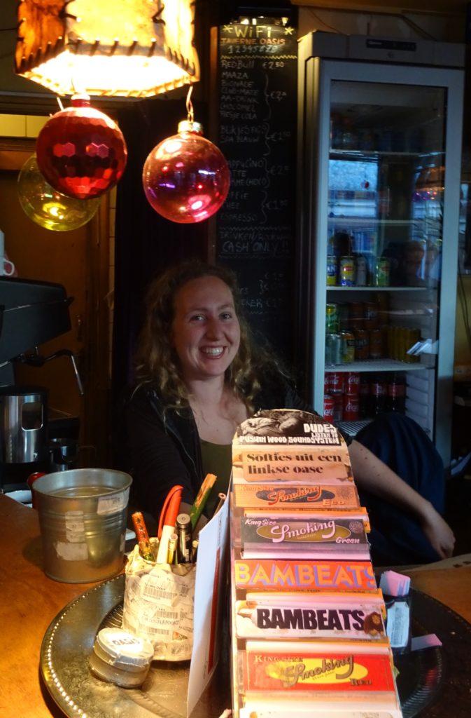 Ook voor koffie of thee naar Oasis, foto: EB