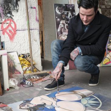 Graffitikunstenaar Klaas Boter