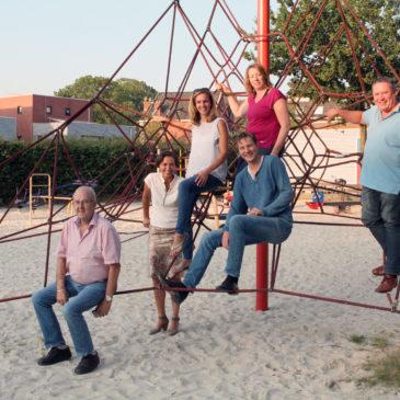 Nieuw bestuur Buurt- en Speeltuinvereniging Oosterpoort